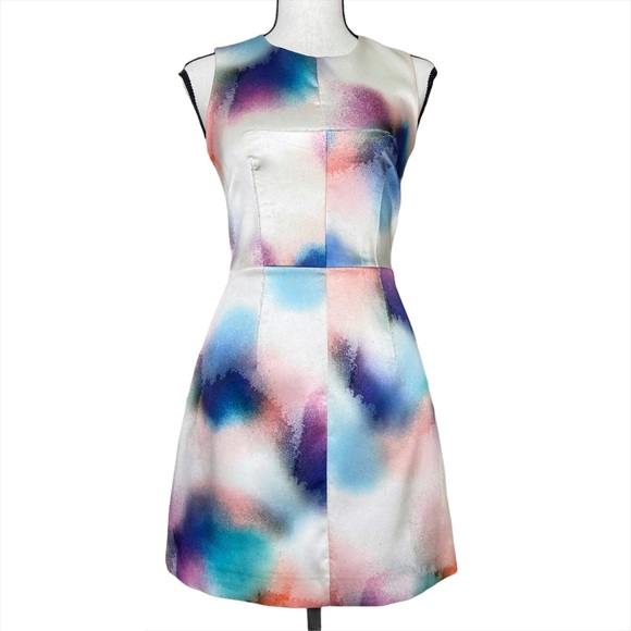 French Connection Soft Spray Mini Dress